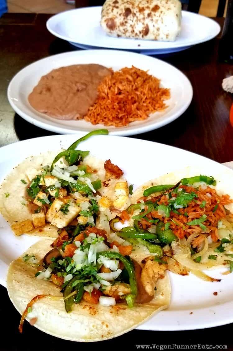 Vegan Mexican food at Los Gorditos in Portland OR - Vegan-friendly restaurants in Portland OR