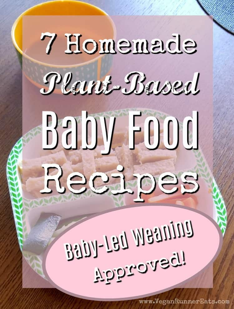 7 vegan baby food recipes - baby-led weaning approved