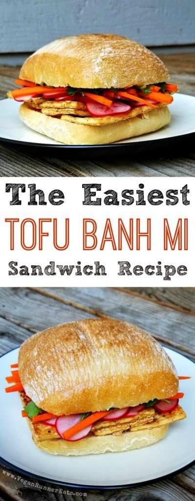 The easiest vegan Tofu Banh Mi recipe