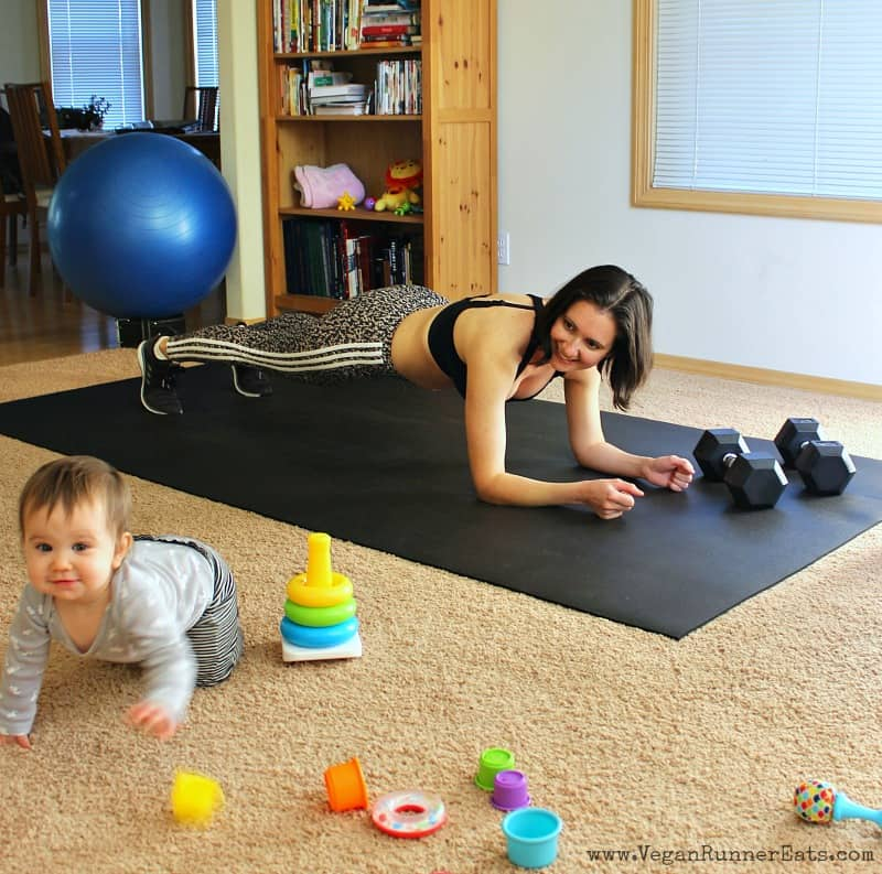 Working out in the first year after having a baby