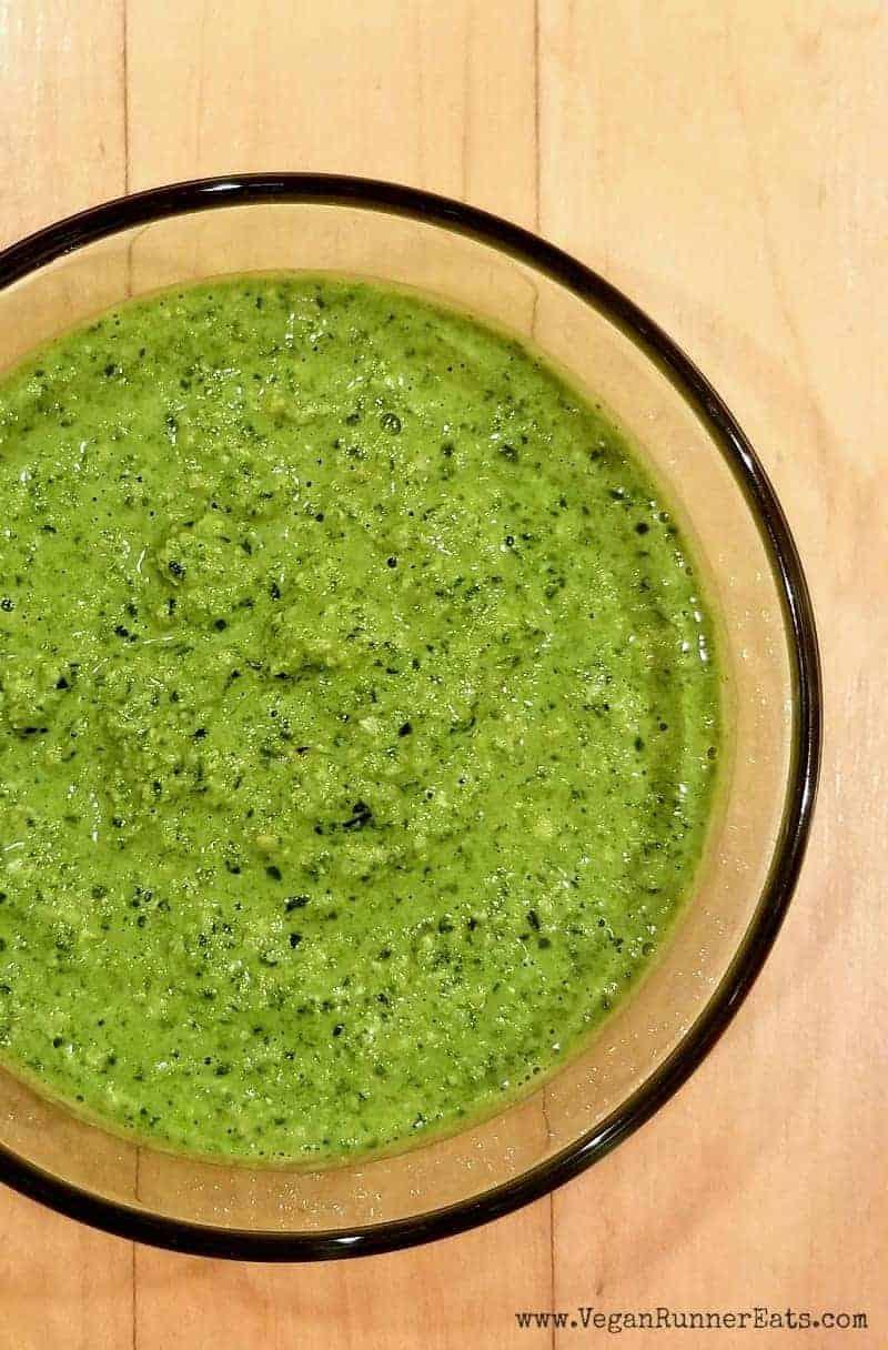 Vegan kale and cashew pesto recipe