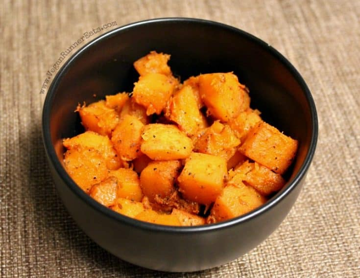 Roasted Butternut Squash, Indian- or Italian-Style