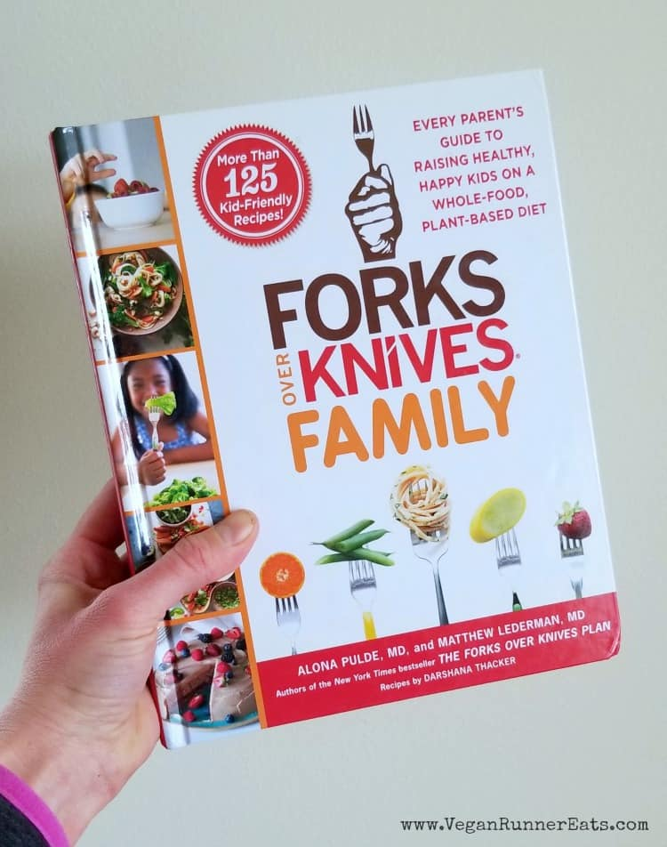 Forks Over Knives Family - a book from a list of 20 helpful vegan parenting resources
