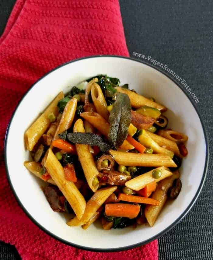 Easy Vegan Balsamic Pasta Recipe