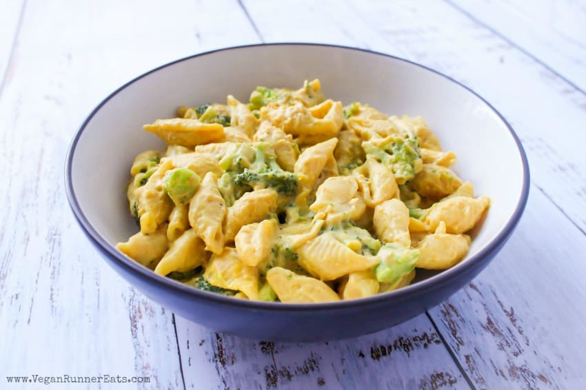 The best vegan mac and cheese recipe with broccoli