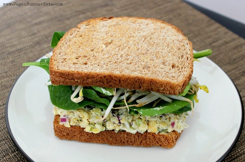 Vegan Chickpea Salad Sandwich Recipe