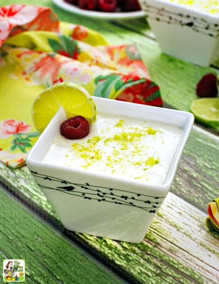 Vegan Key Lime Mousse