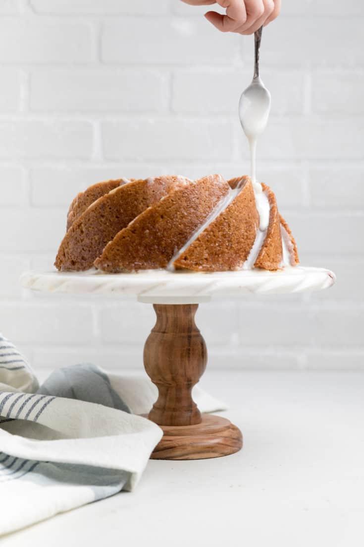 Dairy Free Lemon Pound Cake