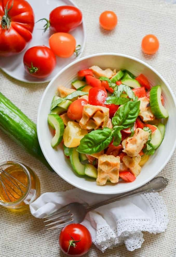 Awesome Panzanella Salad