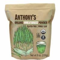 Anthony's Organic Wheatgrass Powder from USA (8oz), Whole Leaf, Gluten Free, Non-GMO