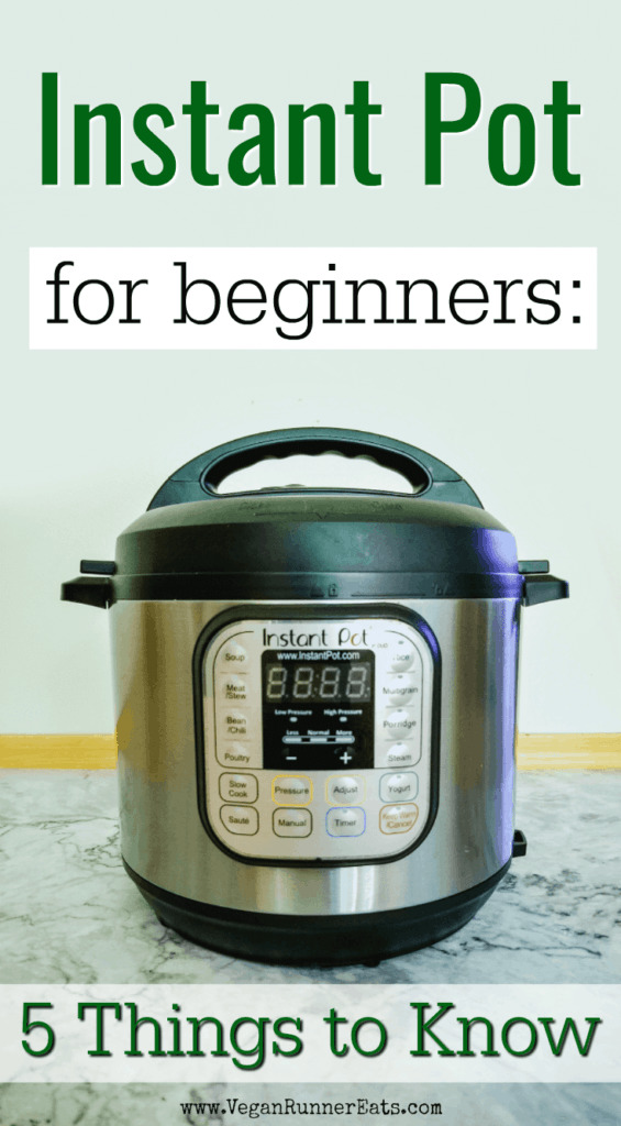 Instant Pot tips for beginners - 5 things to know