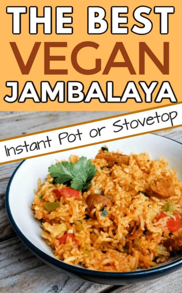 The best vegan jambalaya recipe