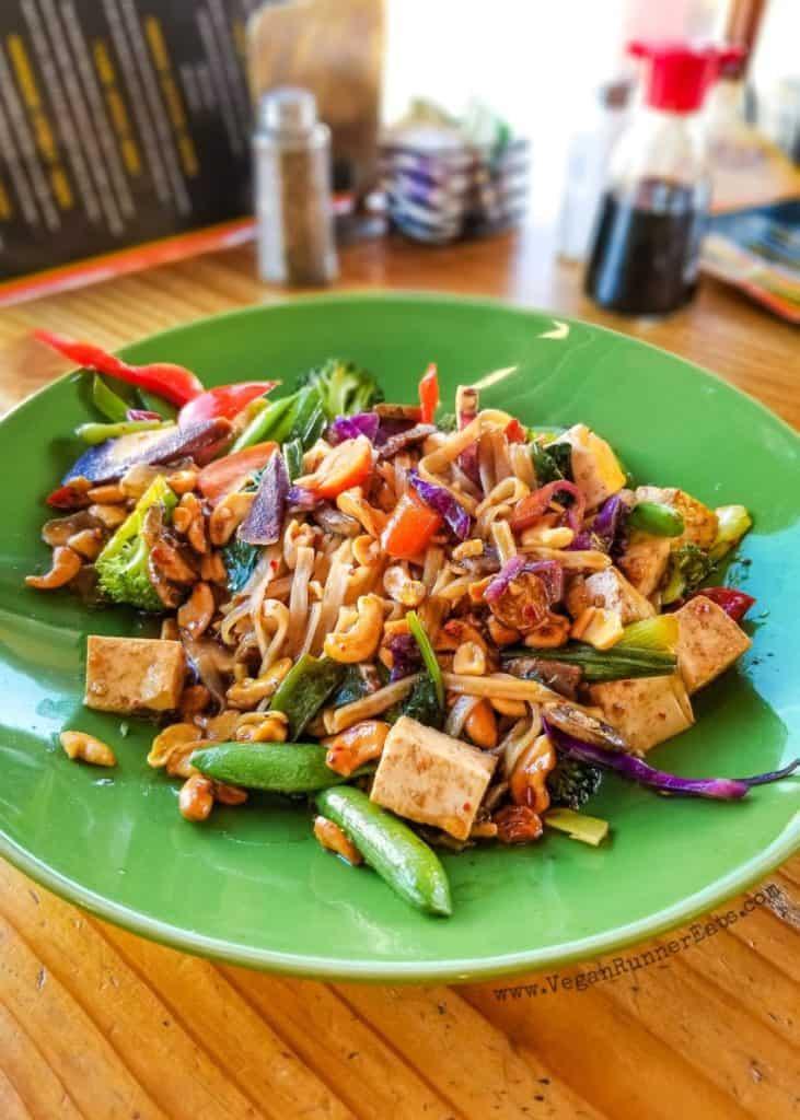 Vegan food in Leavenworth, WA - Wok About Mongolian Grill