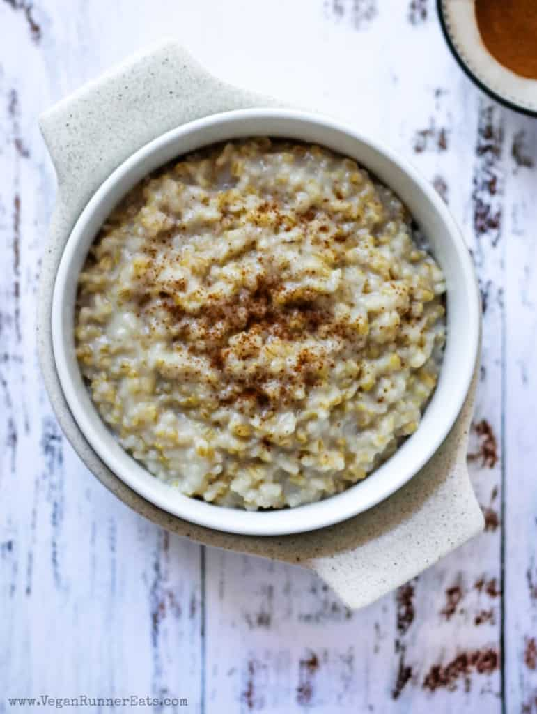 Basic steel cut oatmeal in the Instant Pot: 2 easy ways to cook perfect oats every time.