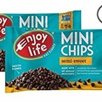 Enjoy Life Semi-sweet Chocolate Mini Chips - Pack of 2