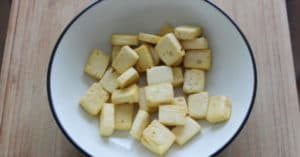 How to bake tofu without oil