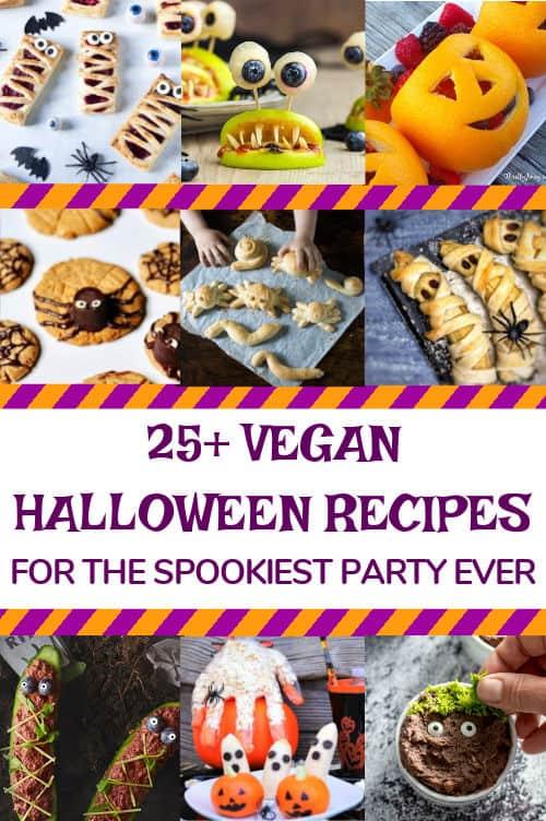 25+ vegan Halloween recipes