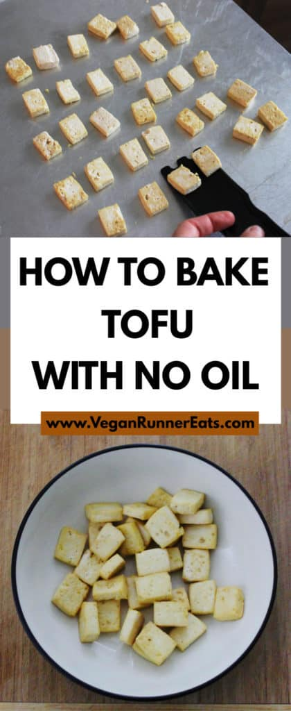 How to bake tofu with no oil - a basic method for baking crispy oil-free tofu in the oven