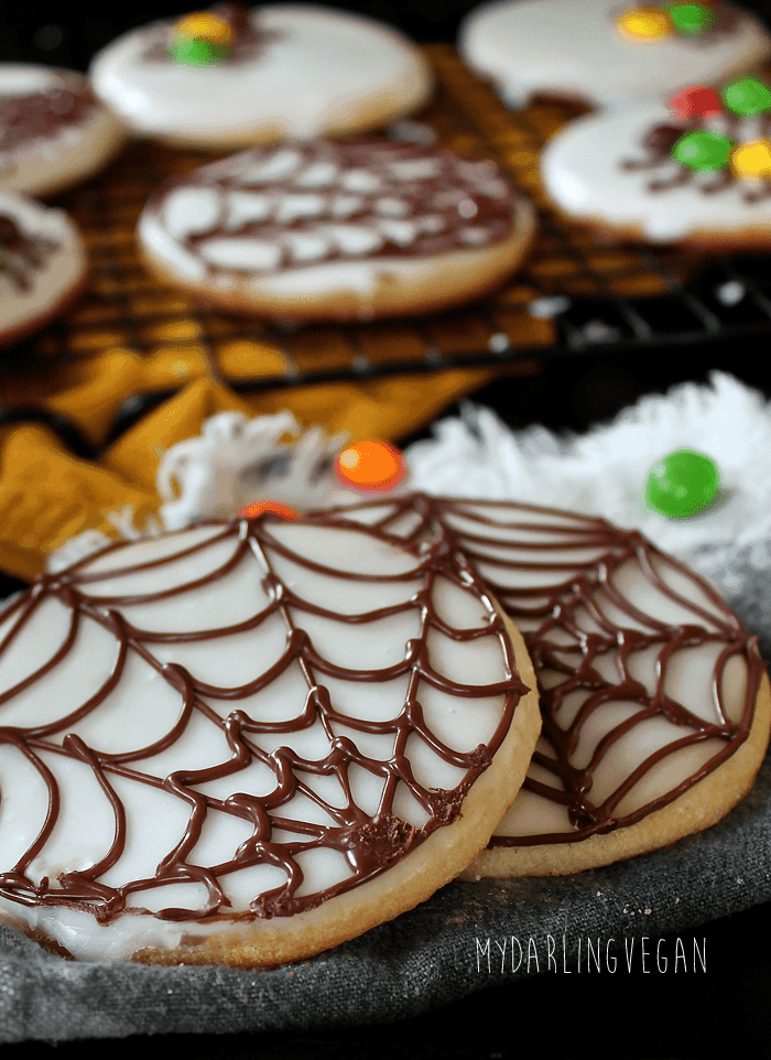 Creepy Crawly Halloween Sugar Cookies (Gluten Free)