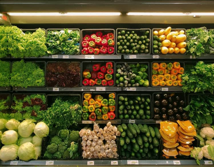 Vegan grocery list on a budget: how to do grocery shopping as a vegan and save money.