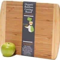Medium-Large Bamboo Cutting Board 14.5