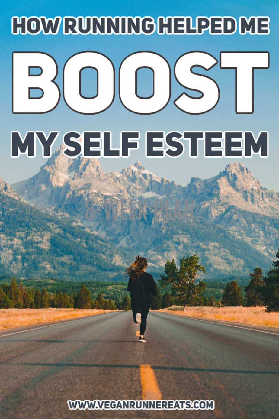 How running helped me boost my self esteem and overcome challenges.