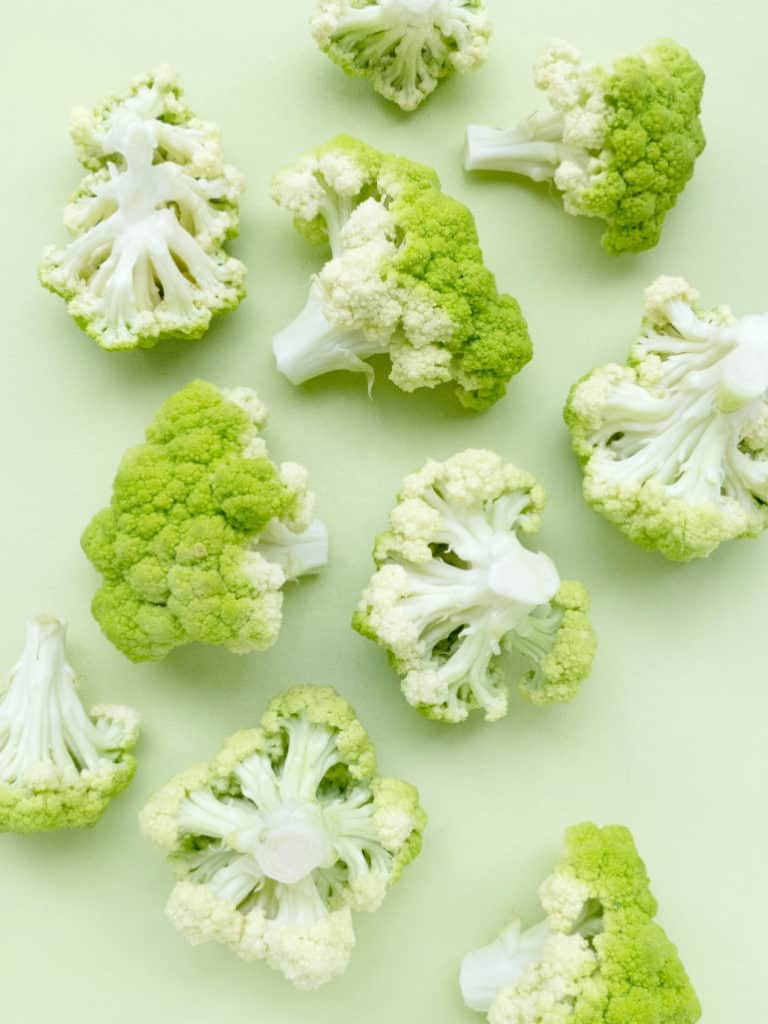 How I got my toddler to eat vegetables including raw cauliflower