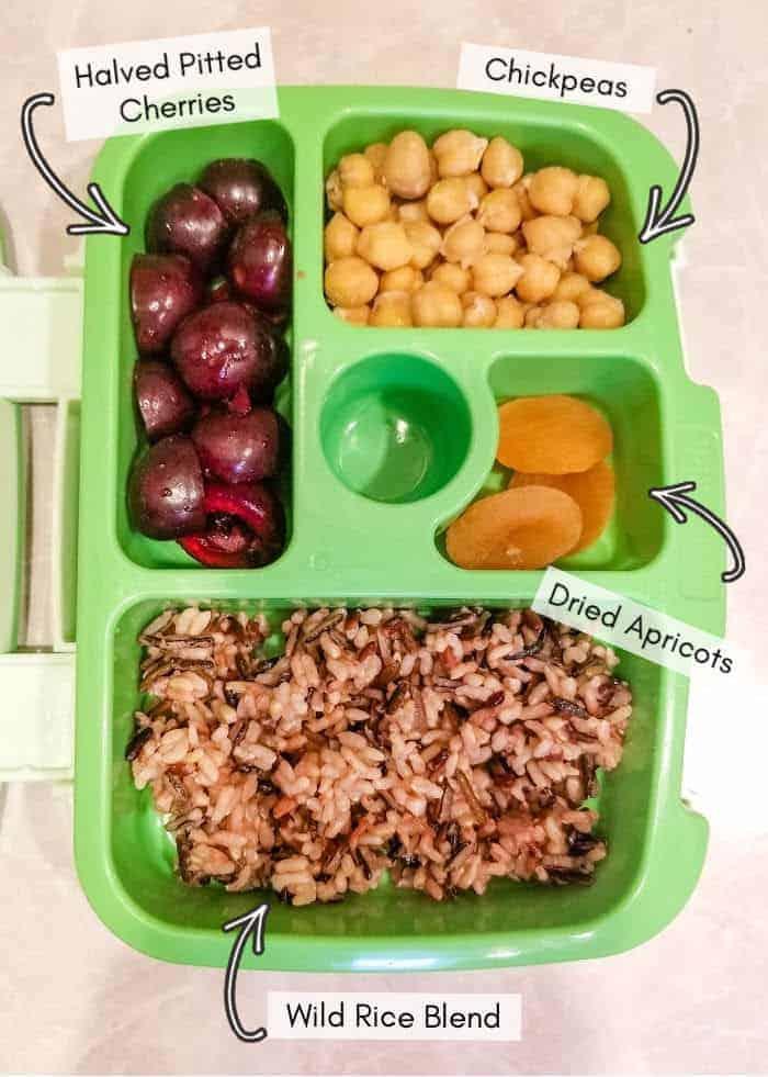 Vegan daycare lunchbox recipe ideas, example #10