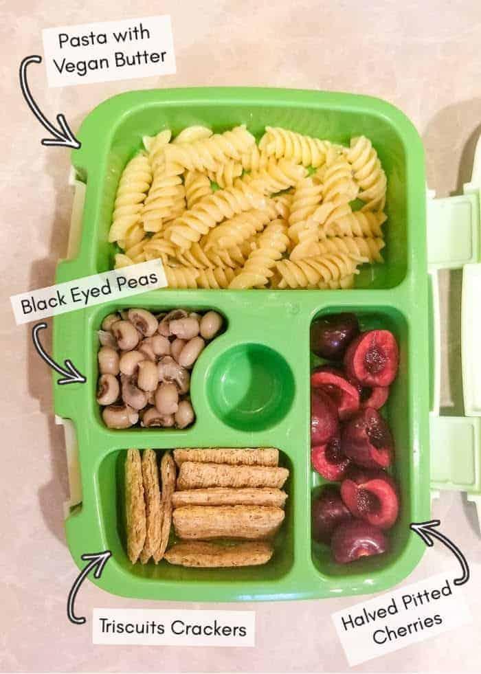 Vegan daycare lunchbox recipe ideas, example 13