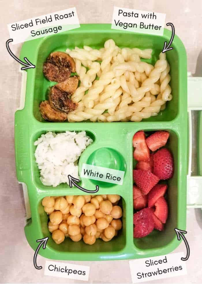 Vegan daycare lunchbox options, example #16
