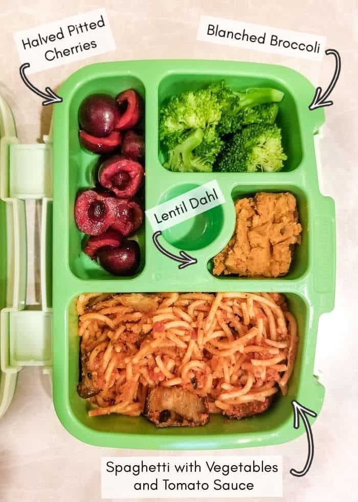 Vegan daycare lunchbox for my toddler, example 19