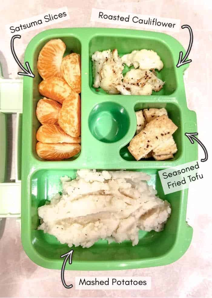 Vegan daycare lunchbox for my toddler, example 8