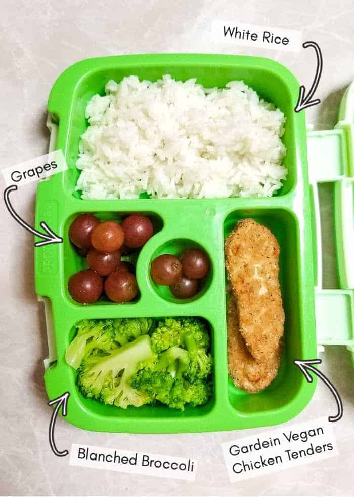 Vegan daycare lunchbox for my toddler, example 9