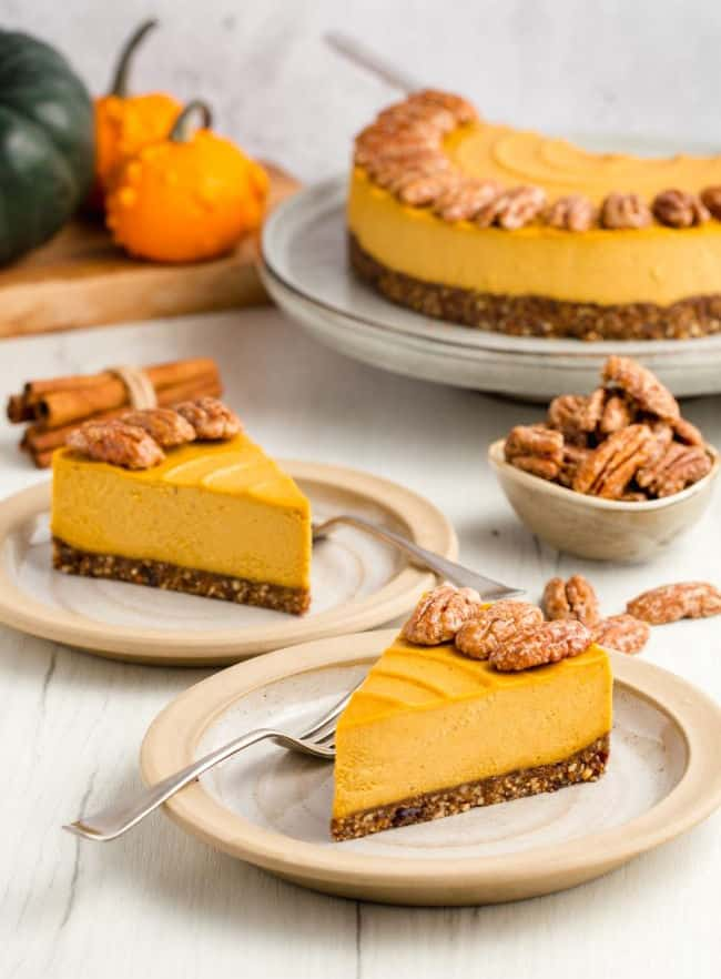 Pumpkin cheecake from Texan Erin blog