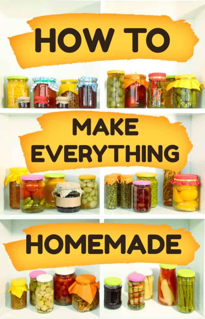 How to make homemade vegan kitchen staples like tofu, plant-based milk, seitan, sprouts, granola, etc.