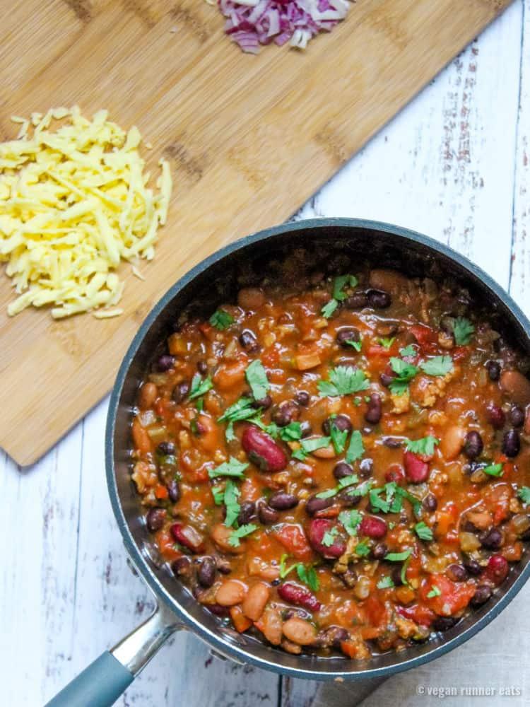 The best vegetarian chili recipe