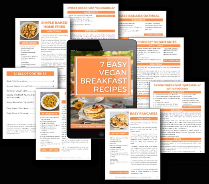 7 Vegan Breakfasts e-book - 1
