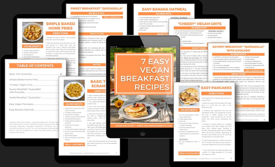 7 Vegan Breakfasts e-book - 2