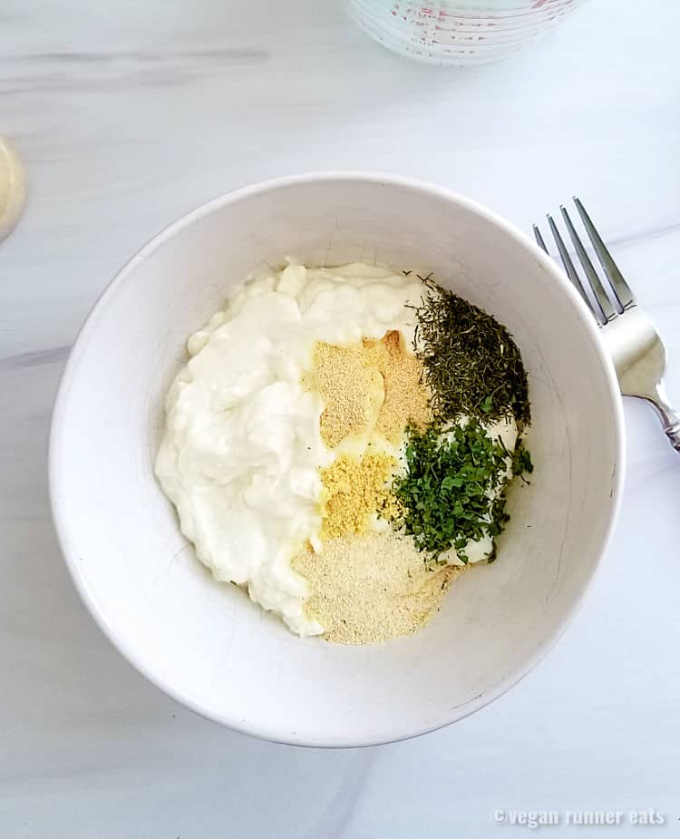 How to make non dairy ranch dressing