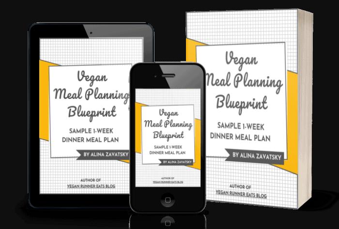 Sample 1 Week Vegan Meal Plan