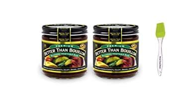 Better Than Bouillon Premium Vegetable Base Bouillon, 8 oz (2 Pack)