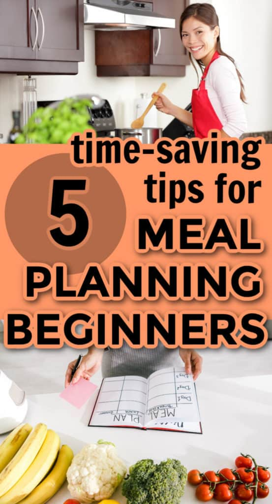 5 time-saving tips for meal planning beginners