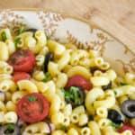 Vegan Macaroni Salad (No Mayo)