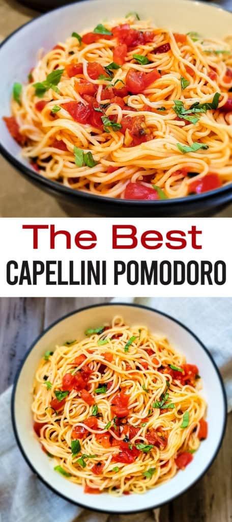 The best capellini pomodoro pasta recipe